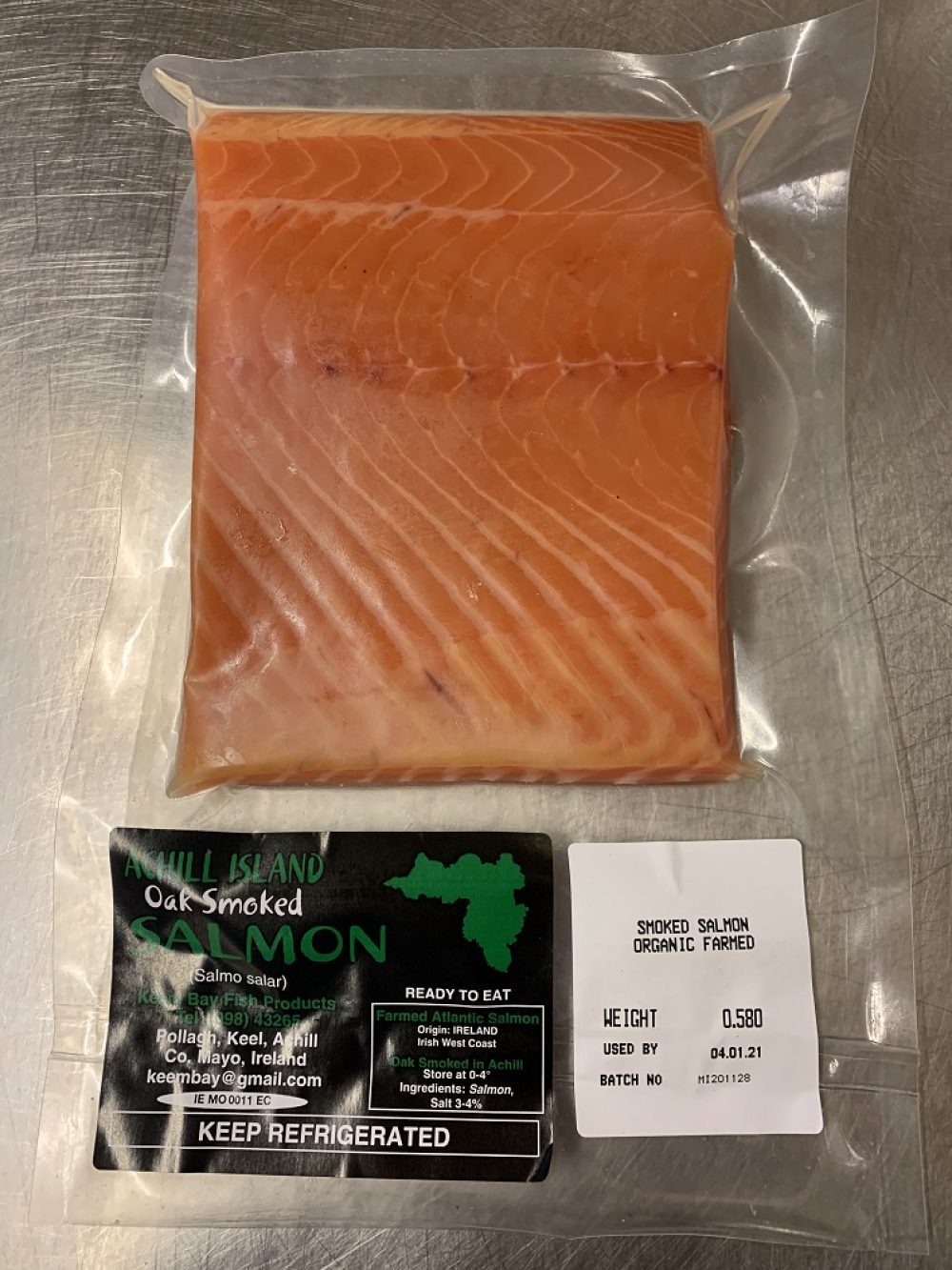 500g salmon piece