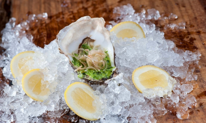 oyster-scallop-tartare